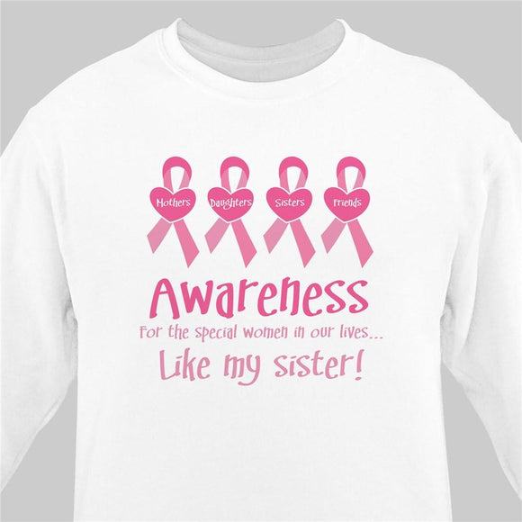 Awareness - Breast Cancer Awareness Personalized Sweatshirt-Personalized Gifts