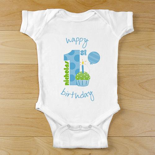 Baby Boy's 1st Birthday Apparel-Personalized Gifts