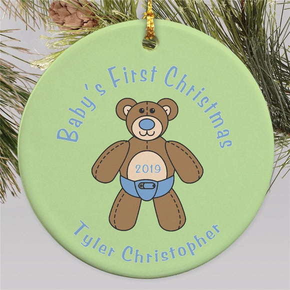 Baby's First Christmas Ornament-Personalized Gifts