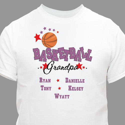 Basketball Personalized T-Shirt-Personalized Gifts