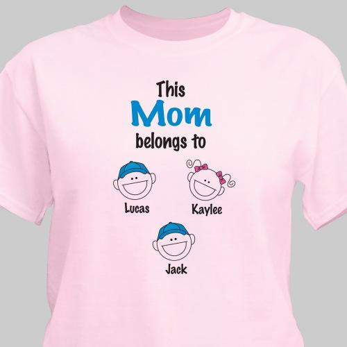 belongs to T-shirt-Personalized Gifts