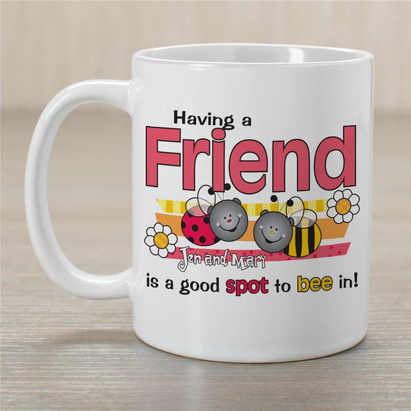 Best Friends Coffee Mug-Personalized Gifts