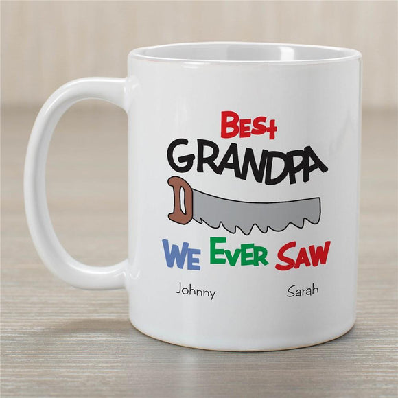 Best We Ever Saw Personalized Coffee Mug-Personalized Gifts