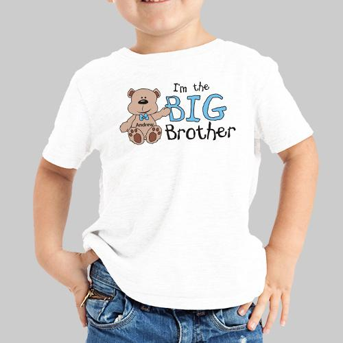 Big Brother T-shirt-Personalized Gifts