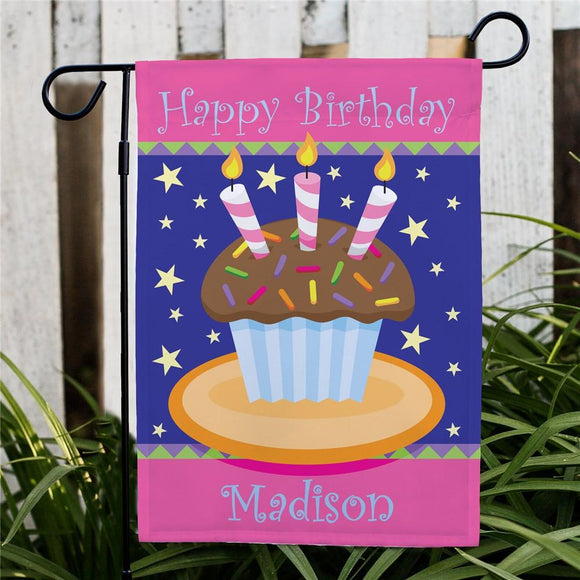 Birthday Garden Flag-Personalized Gifts