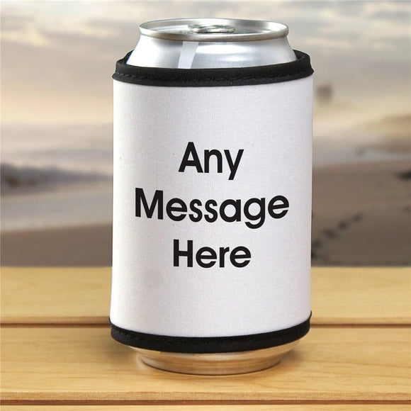 Block Message Can Wrap-Personalized Gifts