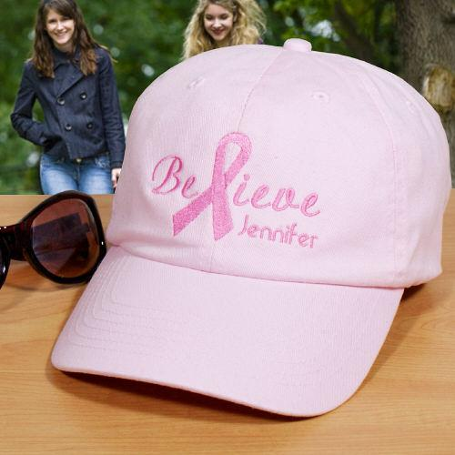 Breast Cancer Awareness Hat-Personalized Gifts
