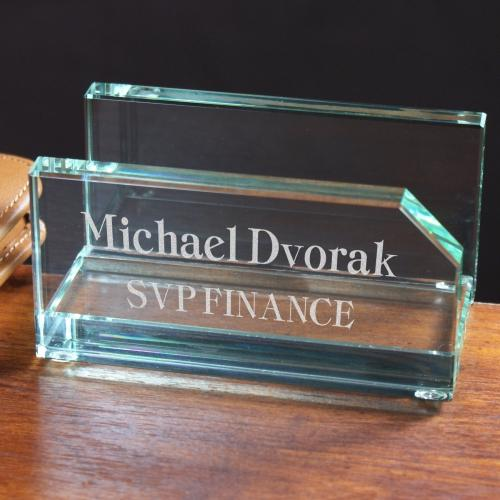 Business Card Holder-Personalized Gifts