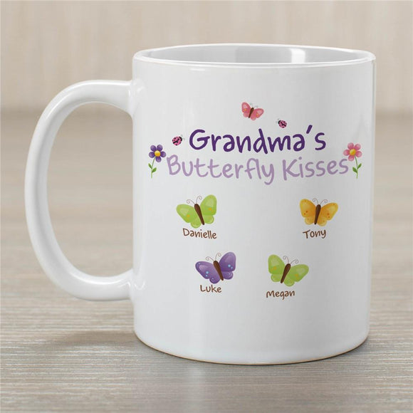 Butterfly Kisses Mug-Personalized Gifts