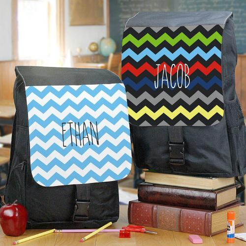 Chevron Backpack-Personalized Gifts