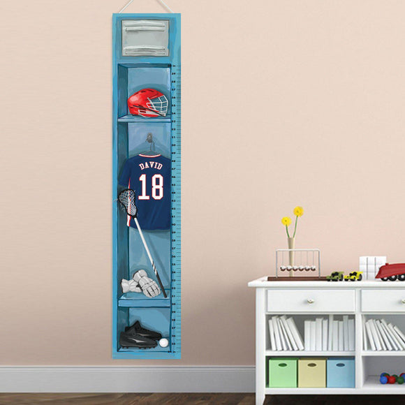 Child Growth Chart - Lacrosse-Personalized Gifts