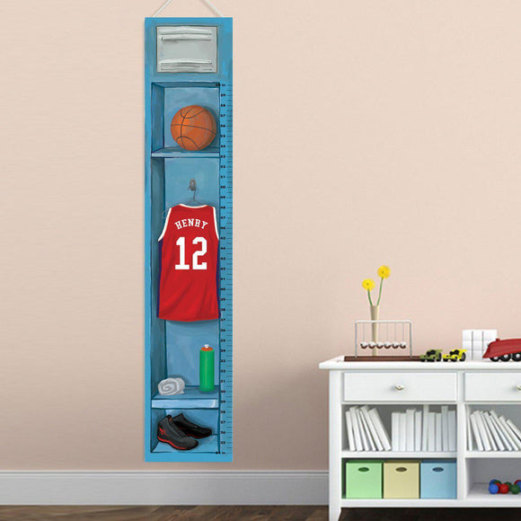 Children's Basketball Growth Chart-Personalized Gifts