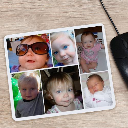 Collage Photo Mouse Pad-Personalized Gifts
