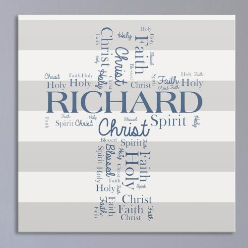 Communion Wall Canvas-Personalized Gifts
