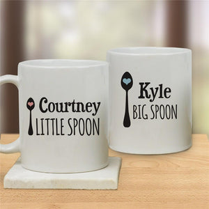 Couples Personalized Coffee Mug Set-Personalized Gifts