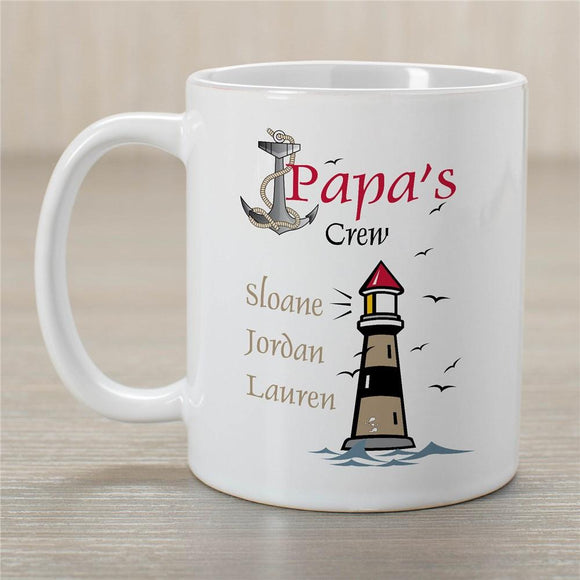 Crew Personalized Coffee Mug-Personalized Gifts
