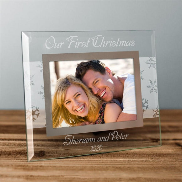 Custom Message Winter Frame-Personalized Gifts
