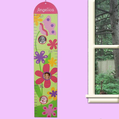 Custom Printed Flower Growth Chart-Personalized Gifts