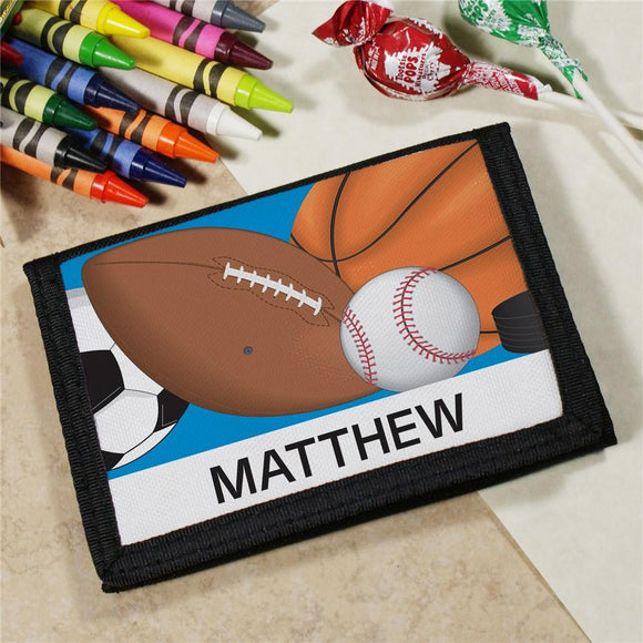 Custom Printed Sports Wallet-Personalized Gifts