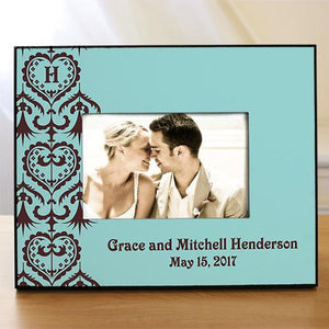 Custom Printed Wedding Picture Frame-Personalized Gifts