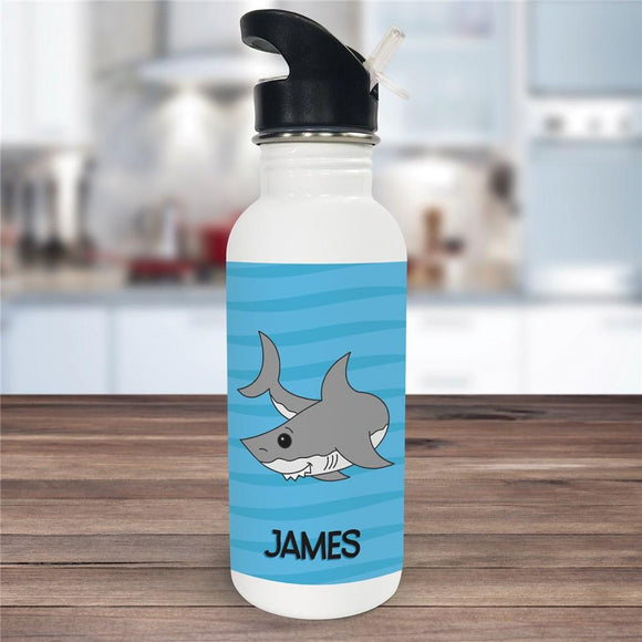 Custom Shark Water bottle-Personalized Gifts