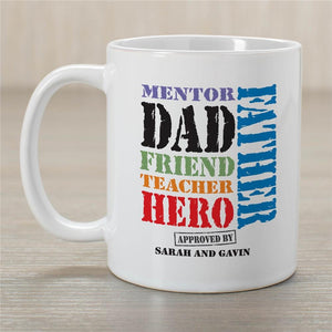 Dad is many things MUG-Personalized Gifts