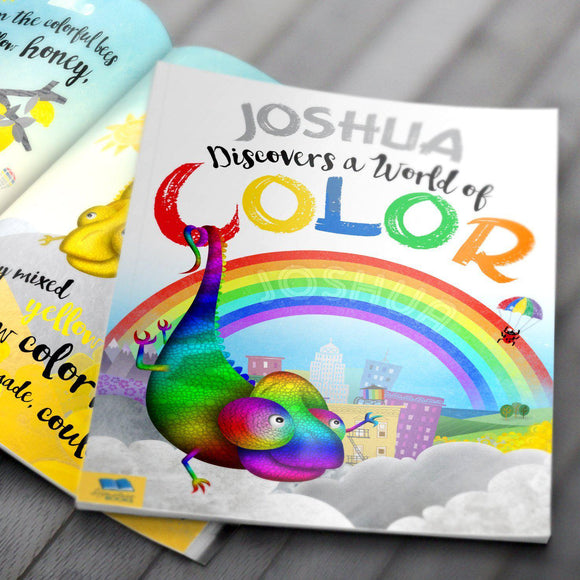 Discover a World of Color Personalized Book-Personalized Gifts