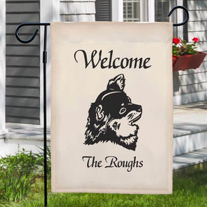 Dog Breed Welcome Personalized Garden Flag-Personalized Gifts