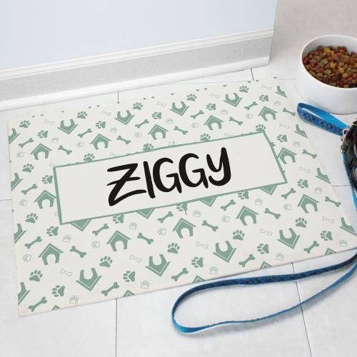 Dog House Doormat-Personalized Gifts