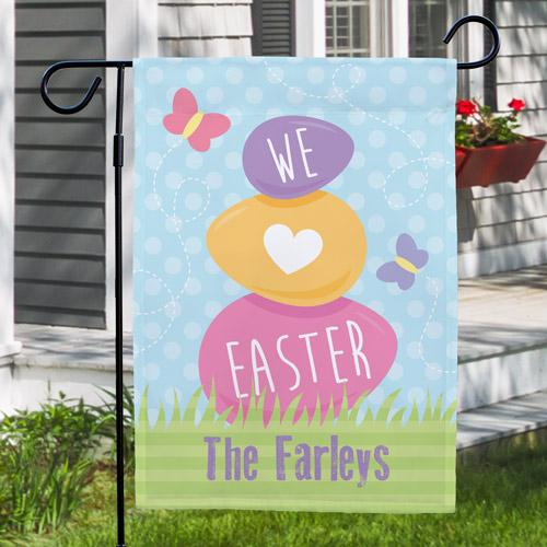 Easter Garden Flag-Personalized Gifts