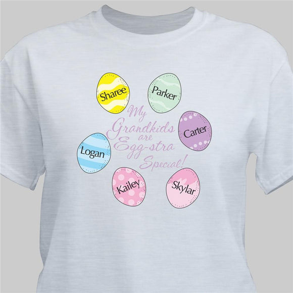 Eggstra Special Personalized Easter Egg Shirt-Personalized Gifts
