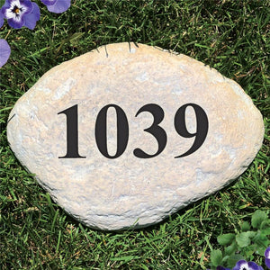 Engraved Address Garden Stone-Personalized Gifts