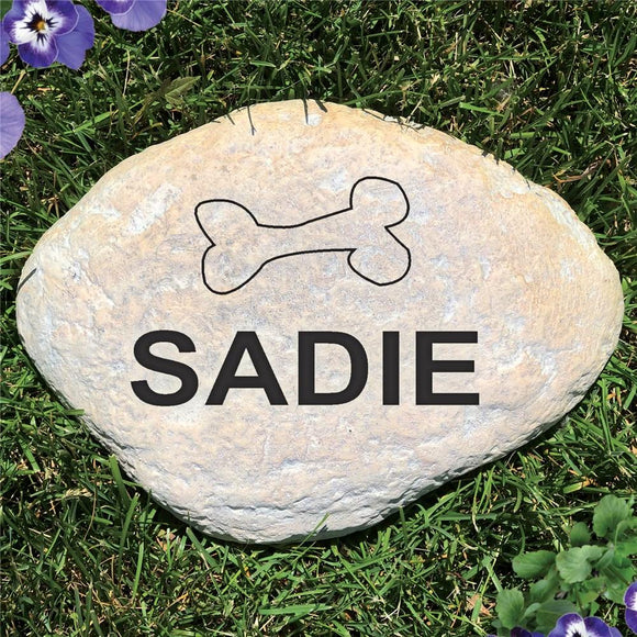 Engraved Pet Garden Stone-Personalized Gifts