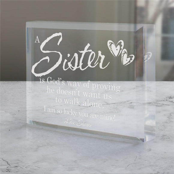 Engraved Religious Keepsake-Personalized Gifts