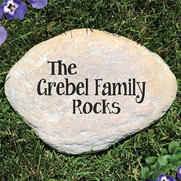 Family Garden Stone-Personalized Gifts