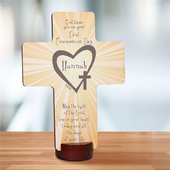 First Communion Personalized Cross-Personalized Gifts