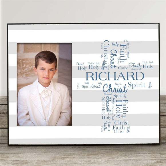 First Holy Communion Picture Frame-Personalized Gifts