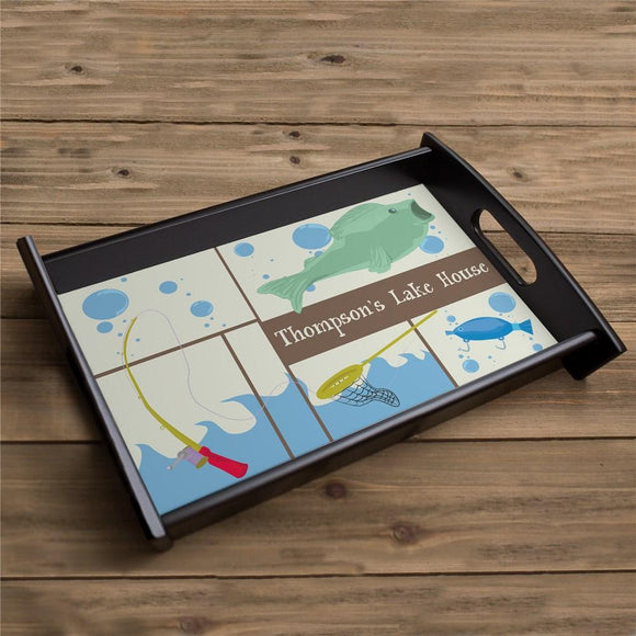 Fisherman Serving Tray-Personalized Gifts