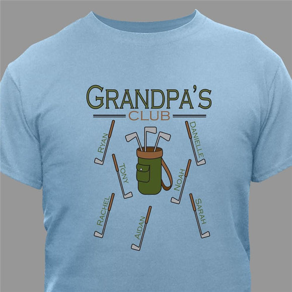 Golf T-shirt-Personalized Gifts