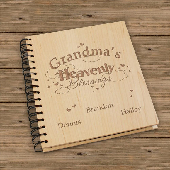 Heavenly Blessings Personalized Photo Album-Personalized Gifts