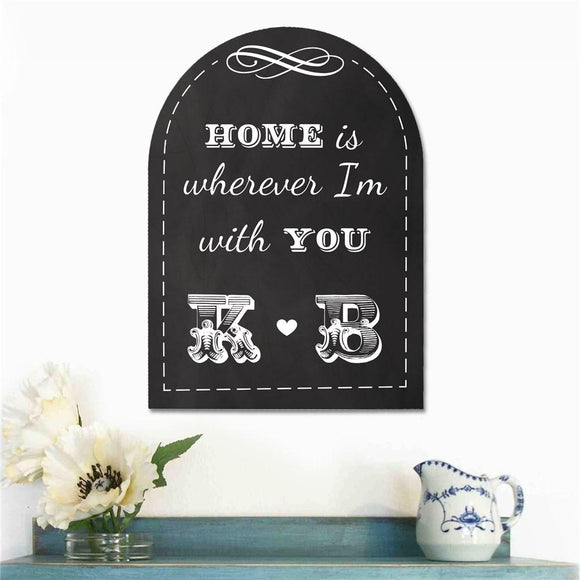 Home is...Sign-Personalized Gifts