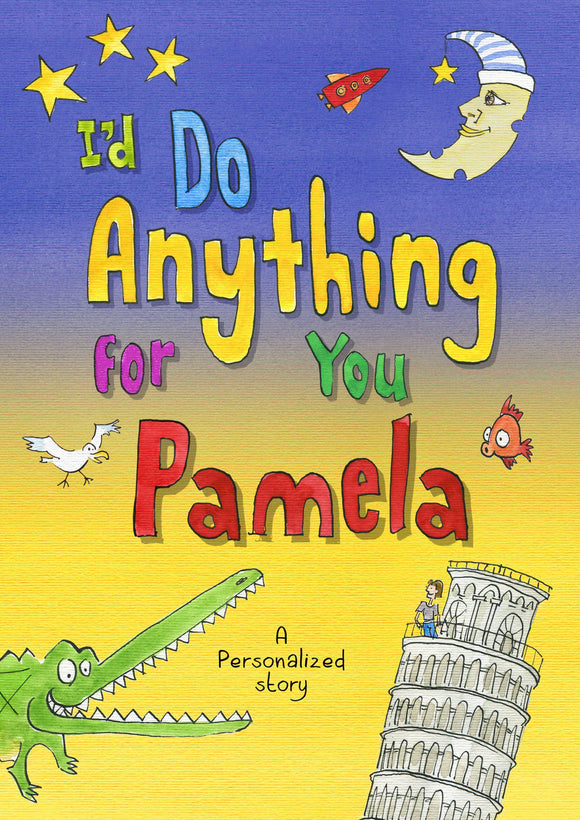 I'd Do Anything for You Book-Personalized Gifts