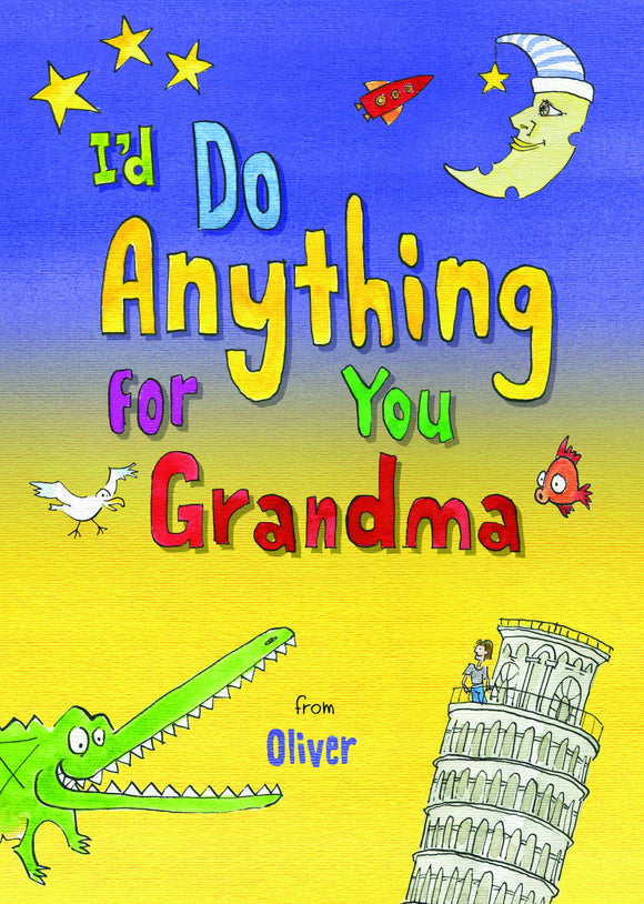 I'd Do Anything for You Grandma-Personalized Gifts