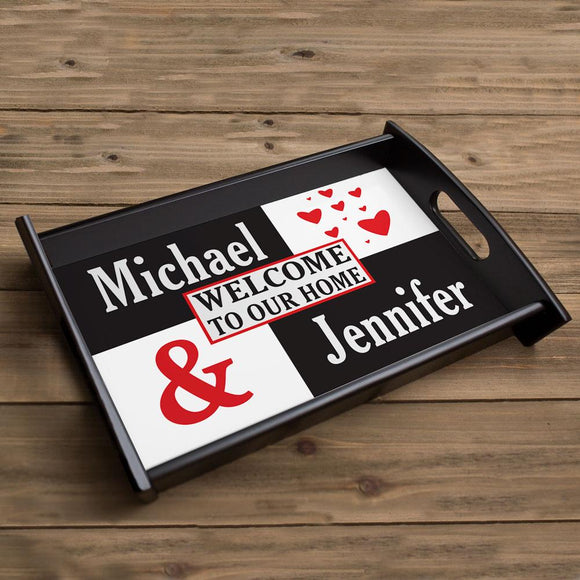 Just the Two of Us Serving Tray-Personalized Gifts