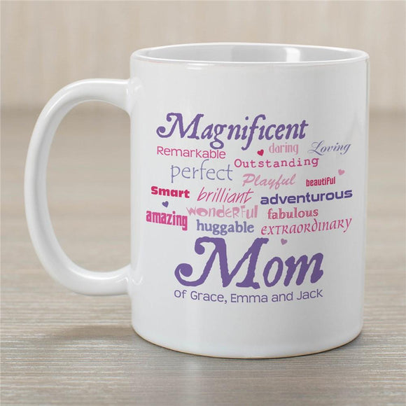 Magnificent Mom Personalized Mug-Personalized Gifts