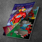 Mega Dad Personalized Comic Book-Personalized Gifts