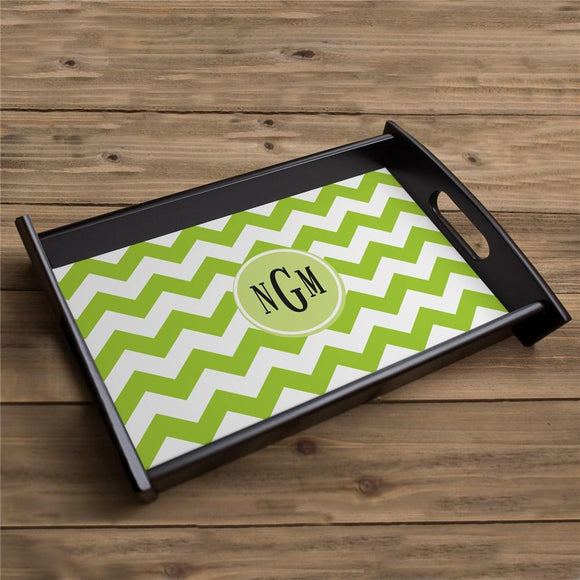 Monogram Madness Serving Tray-Personalized Gifts