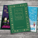 Months of the Year Personalized Book-Personalized Gifts