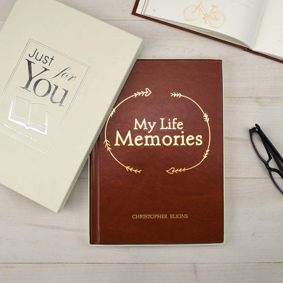 My Life Memories Journal-Personalized Gifts