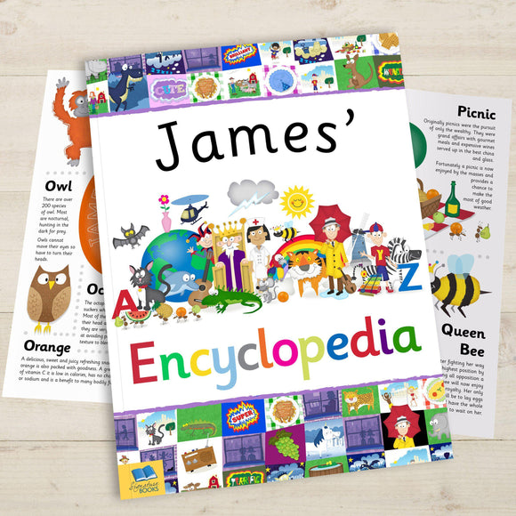My Personalized Encyclopedia-Personalized Gifts